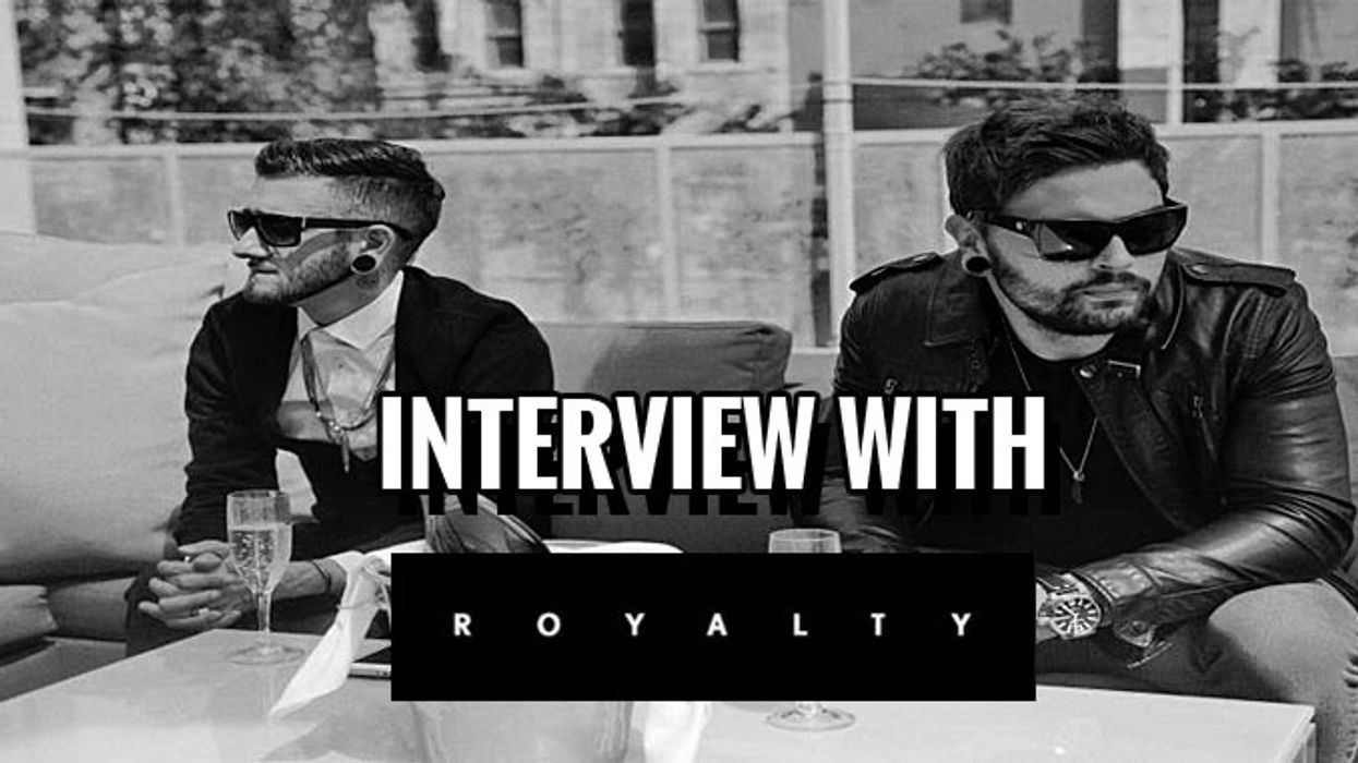 Exclusive interview with Royalty
