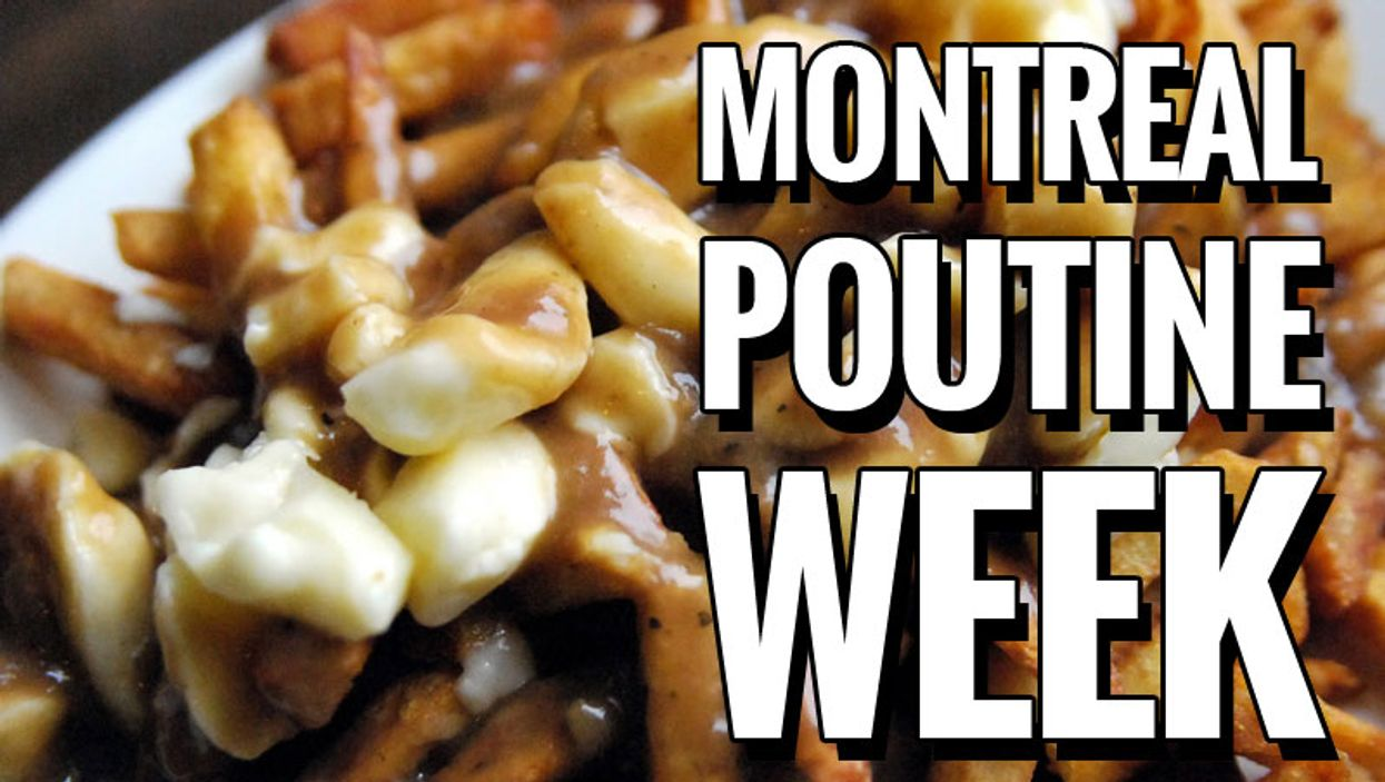 MONTREAL POUTINE WEEK 2013