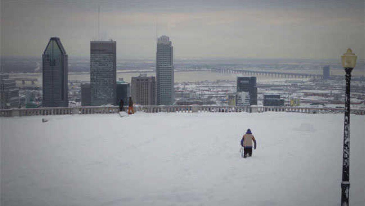 Seb Toots' Montreal Snowboard Run