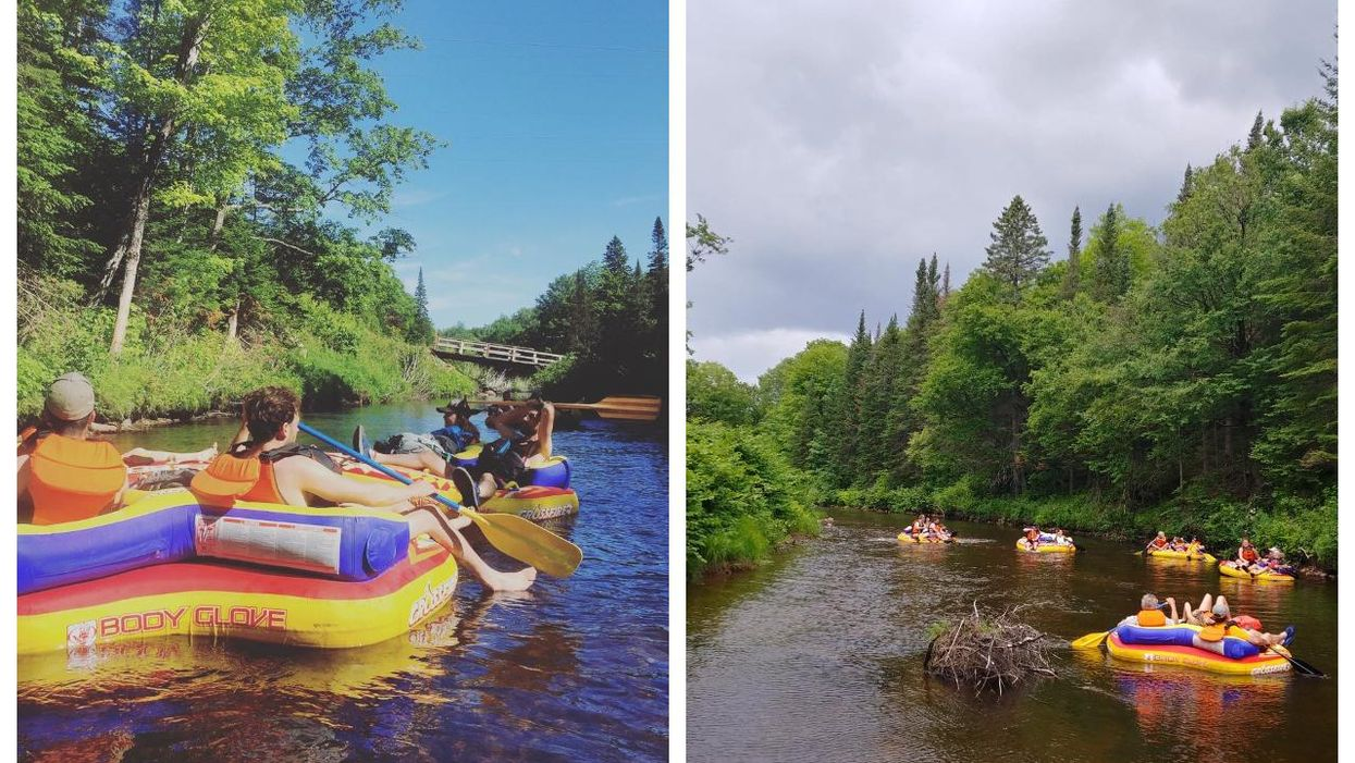 Tubing On This Quebec River Is A Summer Bucket List Must