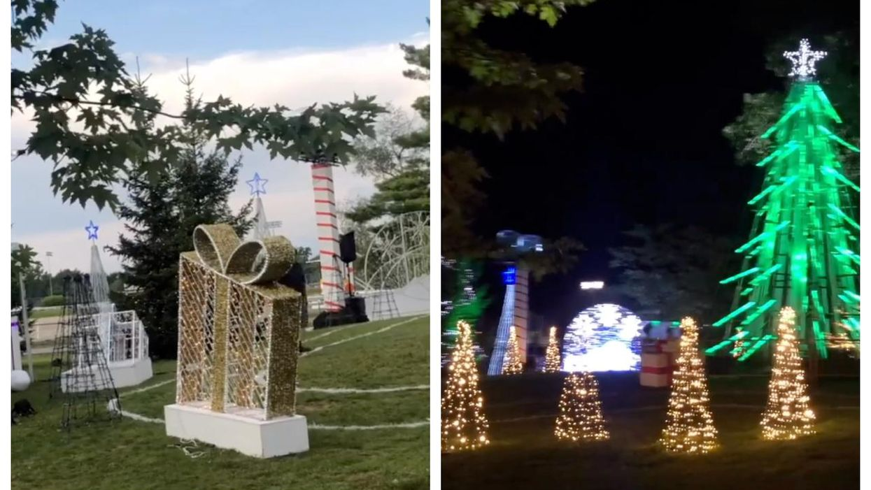 Blainville Is Celebrating Christmas In July Near Montreal
