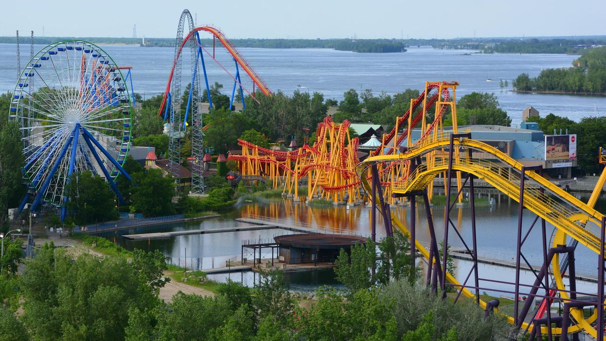 Quebecers Can Get Vaccinated At La Ronde