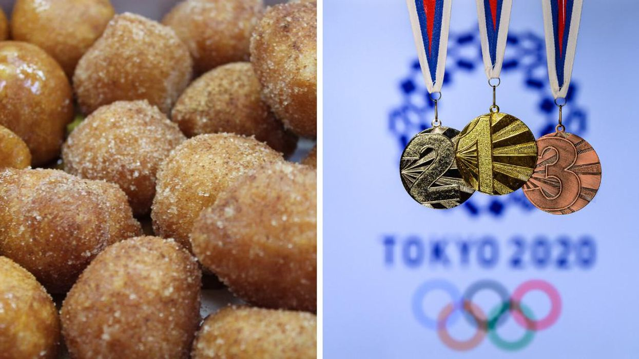 Get Free Doughnuts From Mr. Puffs In Quebec During The Olympics