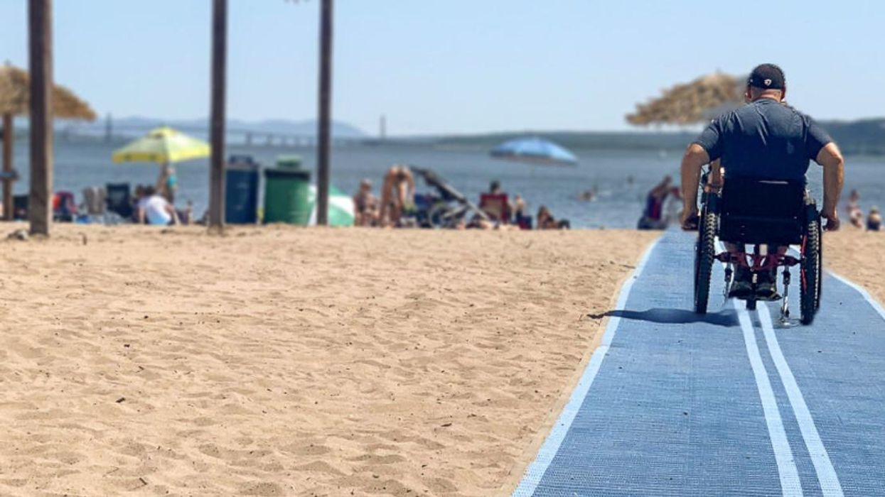 This Quebec Beach Adapted For People With Reduced Mobility