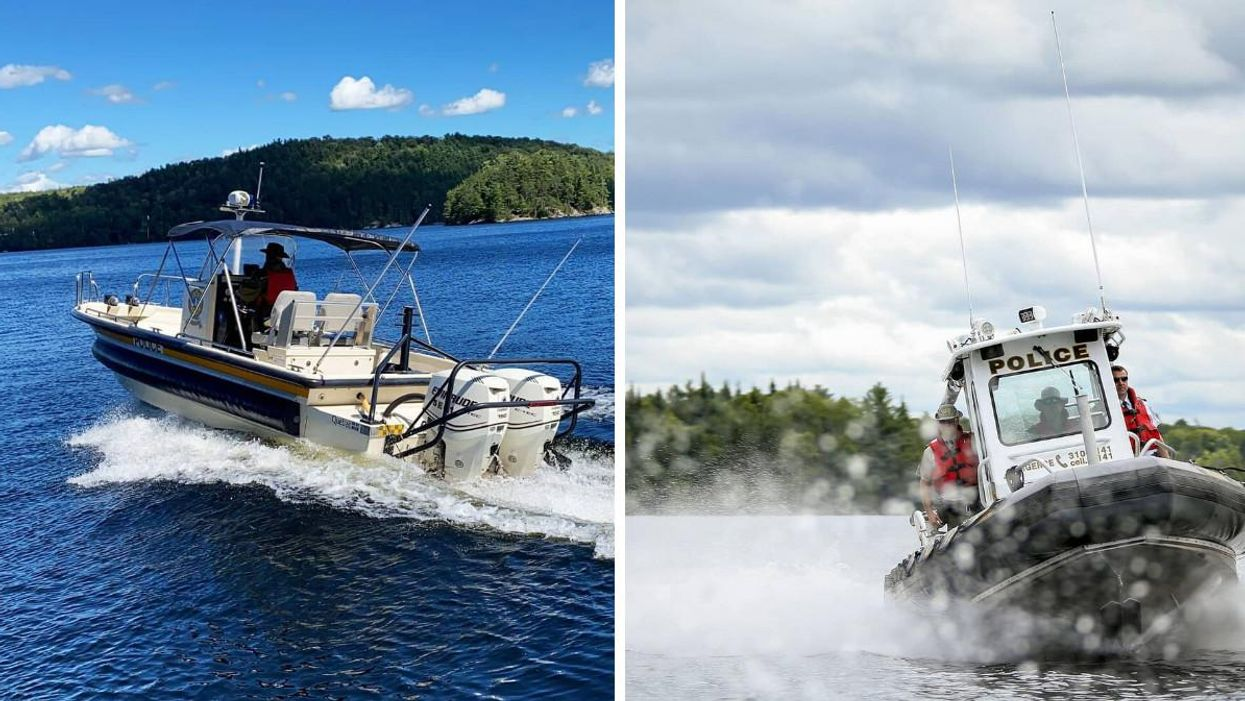 Quebec Police Arrested 10 People For Operating A Boat While Intoxicated