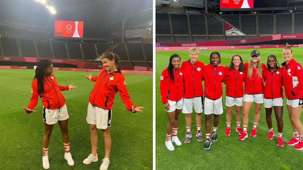 Canada Just Won Gold In Women's Soccer At The Olympics