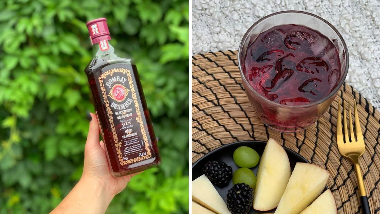 Bacardi's New Bombay Bramble Is The Perfect Summer Gin