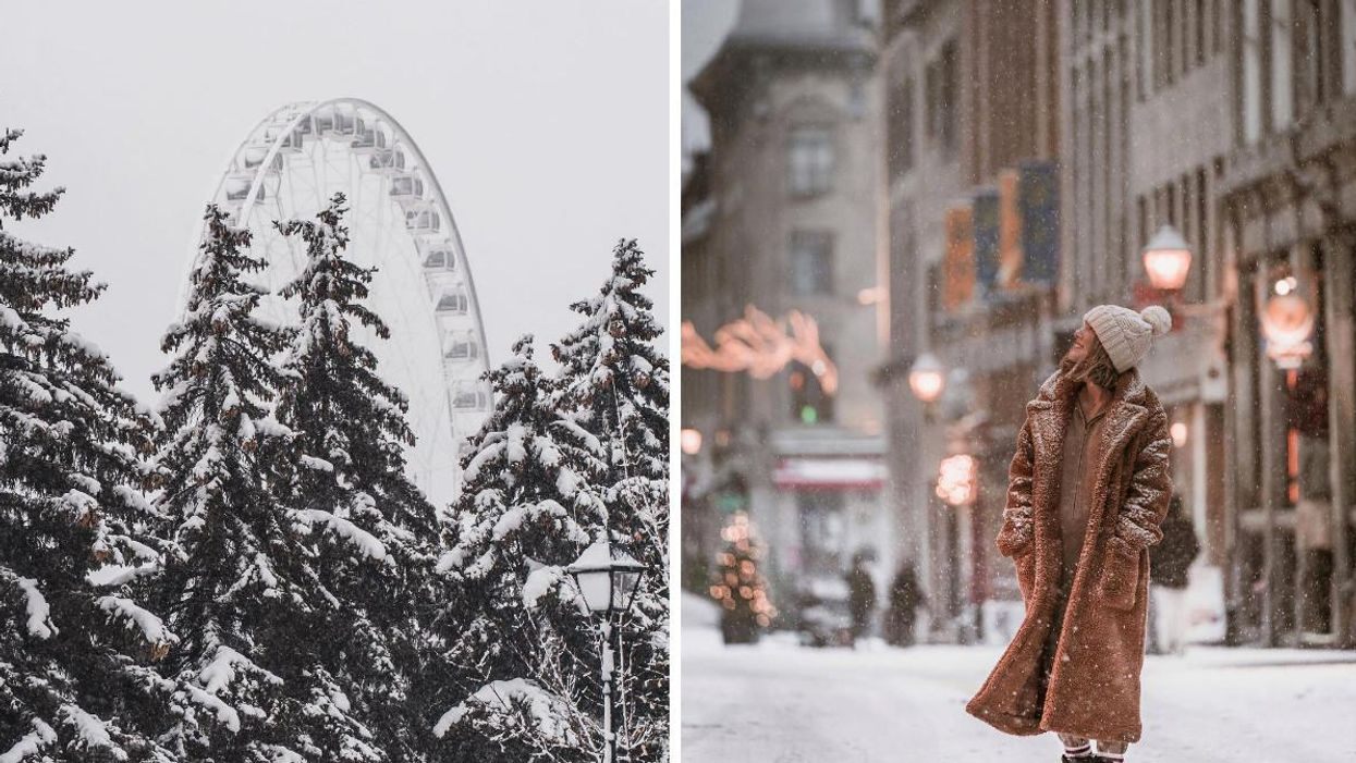 Quebec's Winter Forecast Is Out & We're In For A 'Polar Coaster'