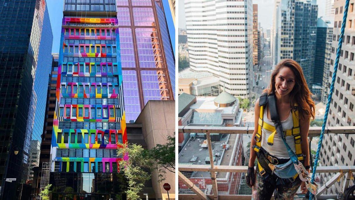 Montreal's Le Germain Hotel Turned Rainbow