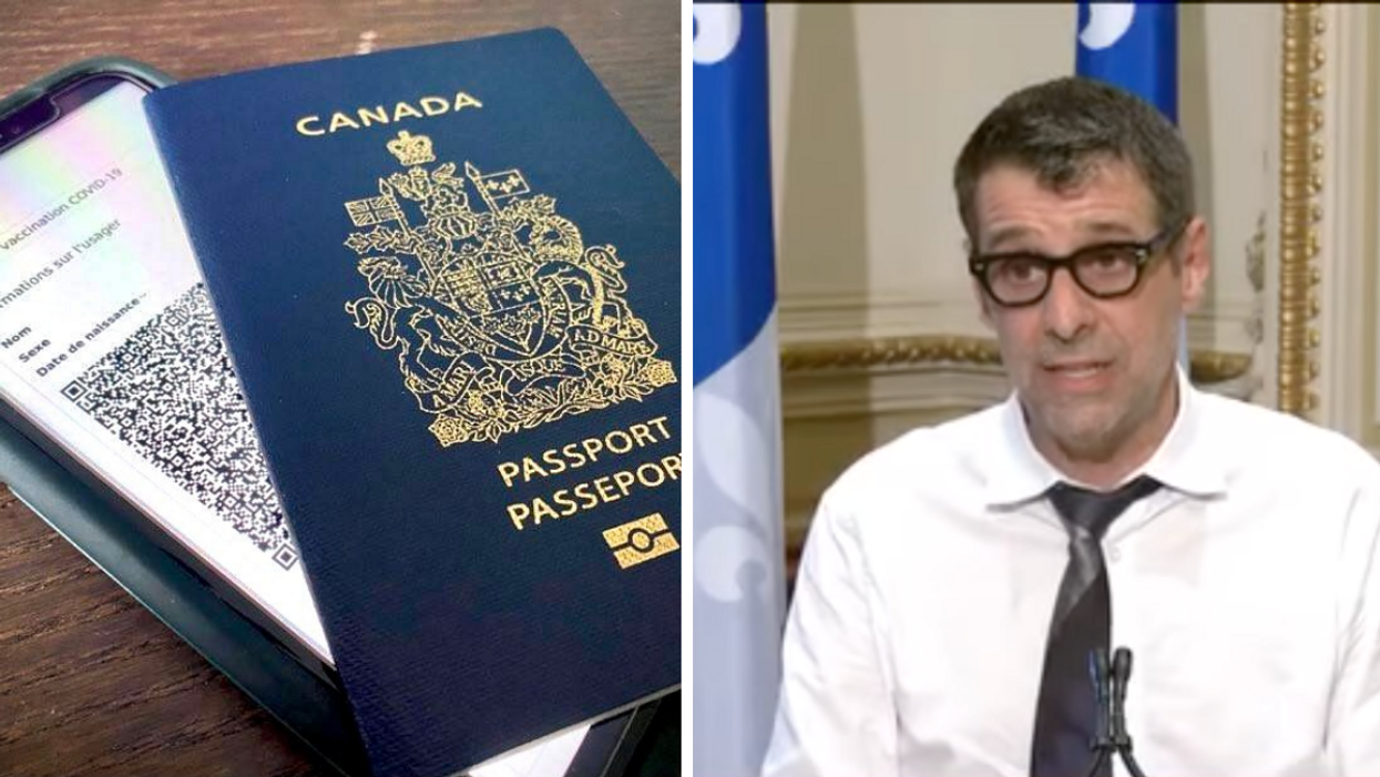 Quebec Conservatives Launched A Petition To Ban Vax Passports 'Like The Governor Of Florida'