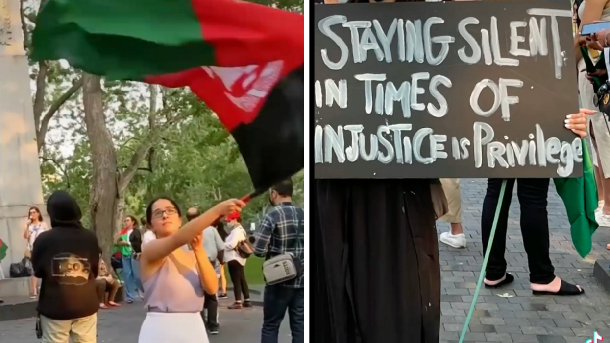 Montrealers Are Rallying For Afghanistan (PHOTOS)