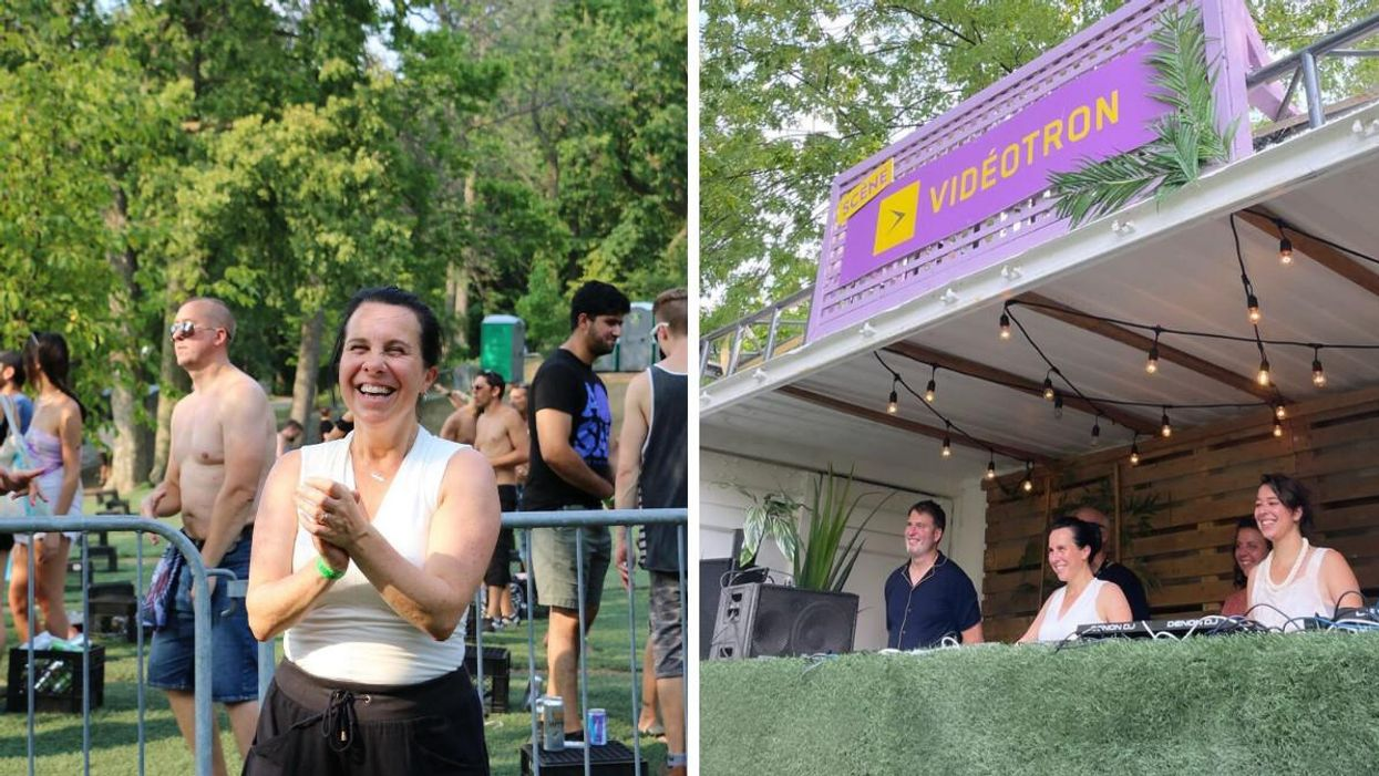 Valérie Plante Went To Piknic Électronik This Weekend