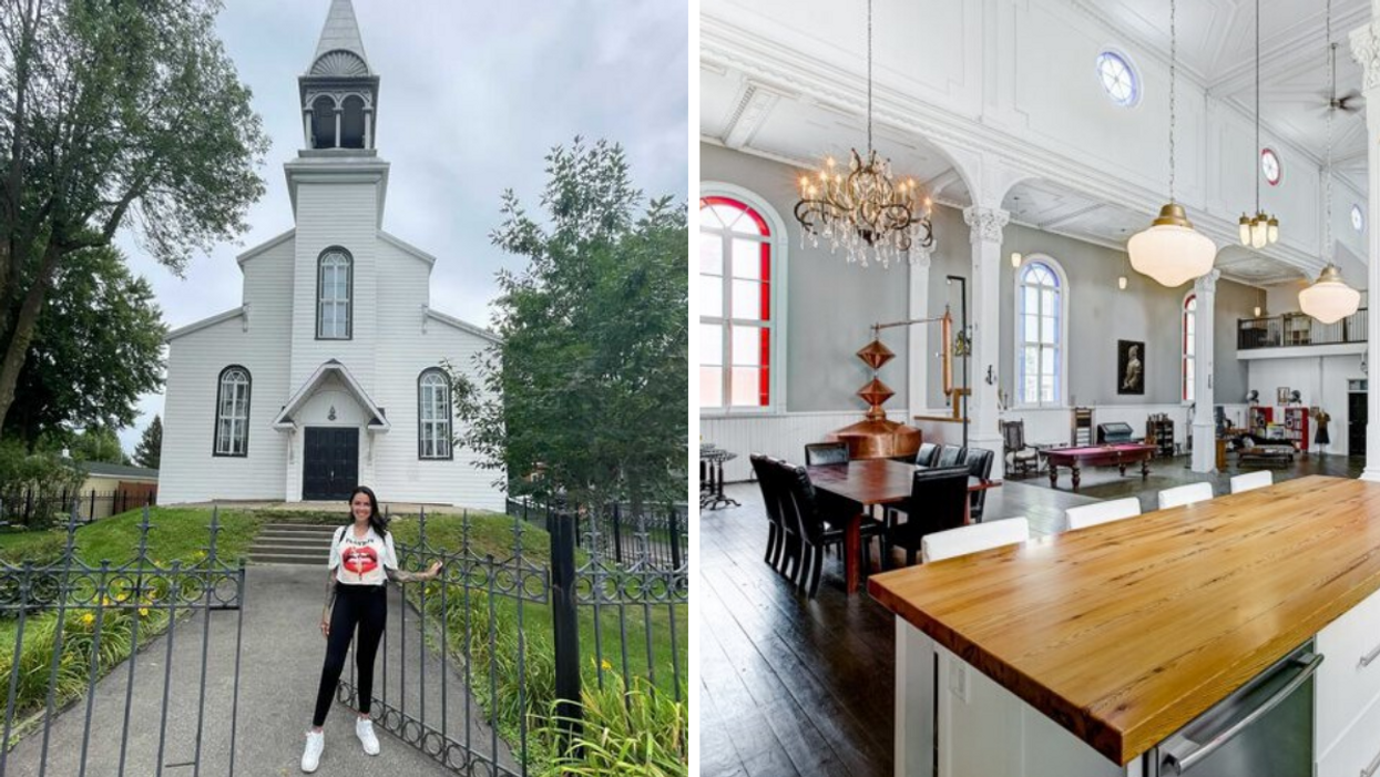 Helene Boudreau Might Buy Converted Church For Sale In Quebec