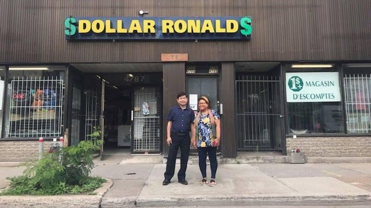 Montreal's Dollar Ronald Is Having A Closing Sale