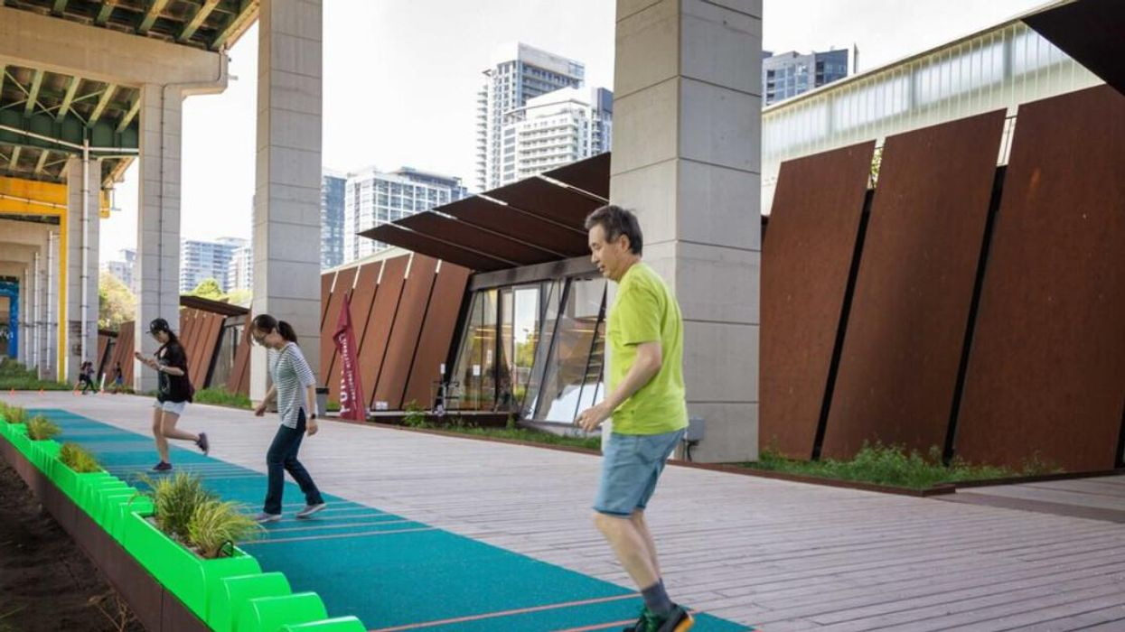 Montreal's Place Des Arts Has A New Musical Installation