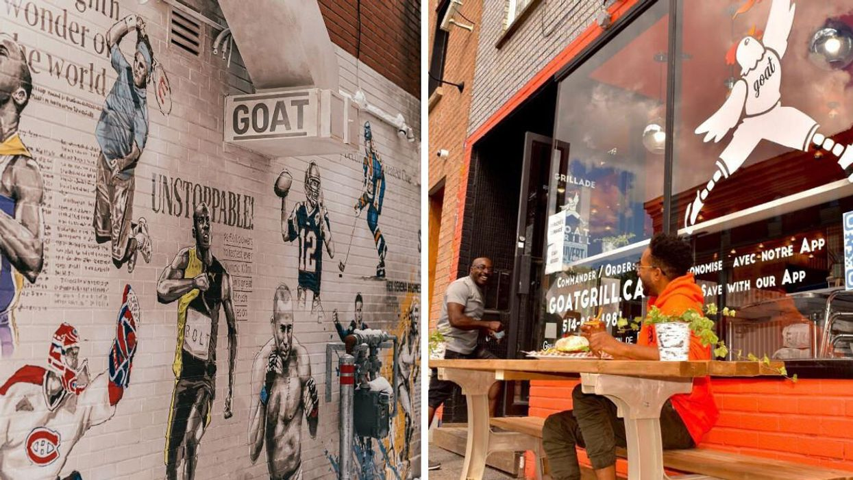 Montreal's G.O.A.T Grill Is A Must-Visit For All Chicken Lovers