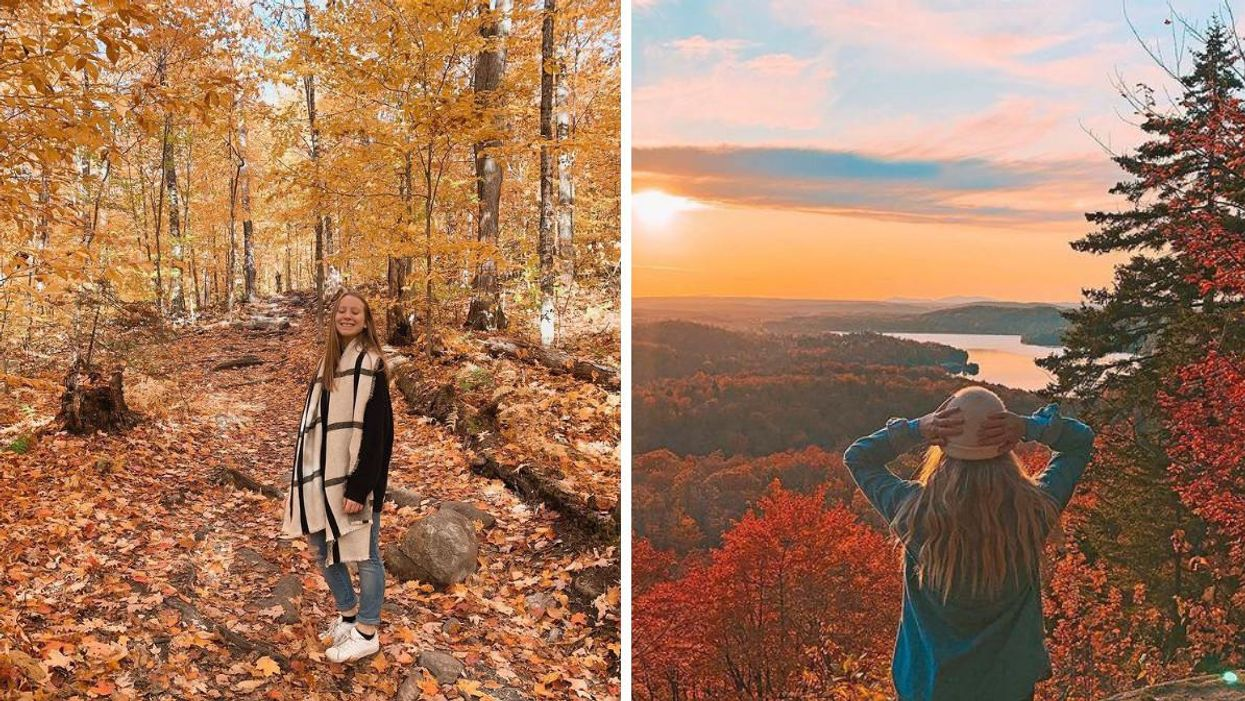 This Quebec Fall Hike Gives You The Most Spectacular Views