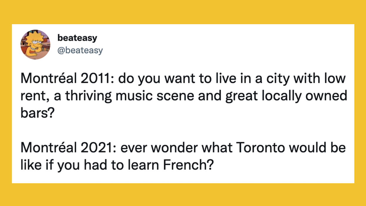 Montreal Rent Increases Subject Of Painfully Hilarious Tweet