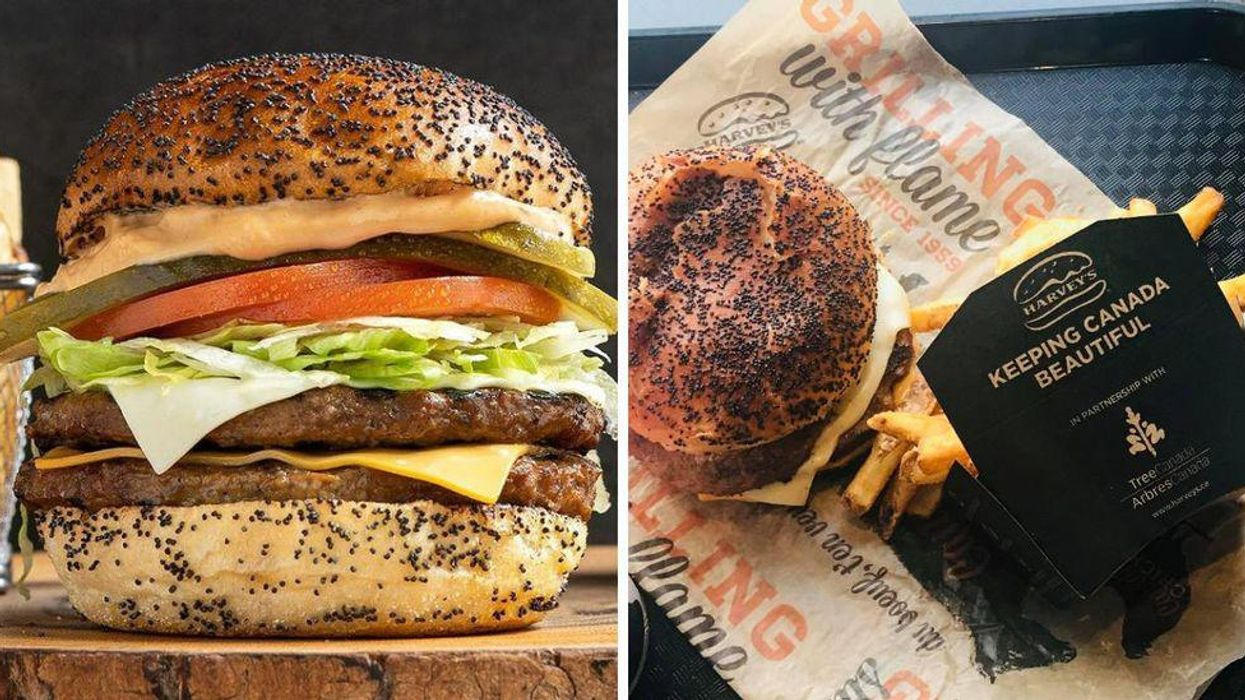 Harvey's 'The Big Harv' Burger Is Back In Canada But Only For A Limited Time