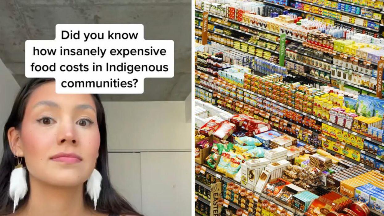 Extreme Food Price Differences In Canada Are Being Called Out By Inuuk TikTokers (VIDEOS)
