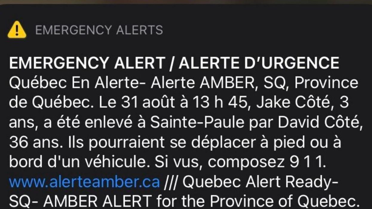 Quebec Amber Alert: Police Posted Updates In The Search For Missing 3-Year-Old Jake Côté