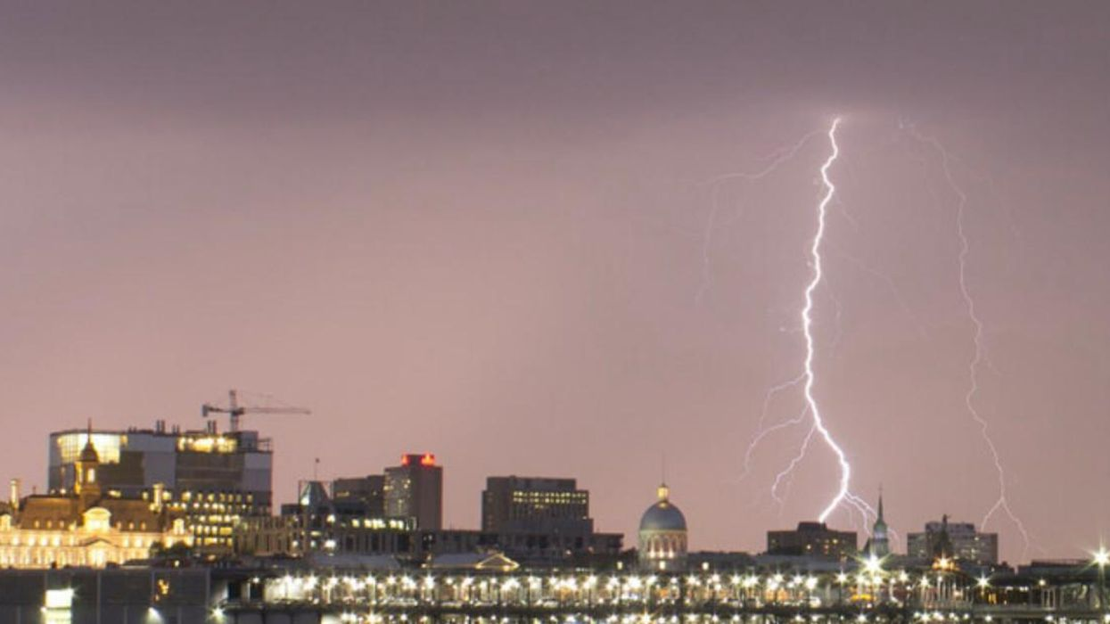 There Could Be Some Severe Thunderstorms In Montreal Today
