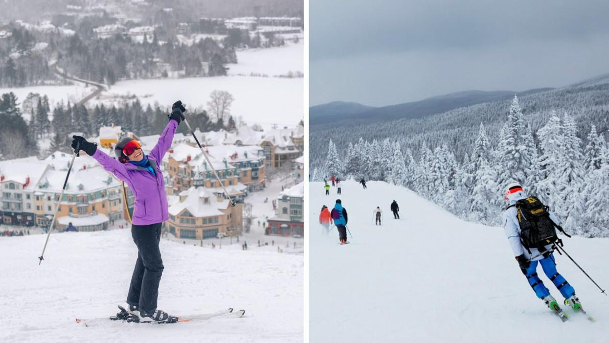 The 'Top 9 Ski Resorts Quebec Has To Offer This Winter' Were Just Revealed