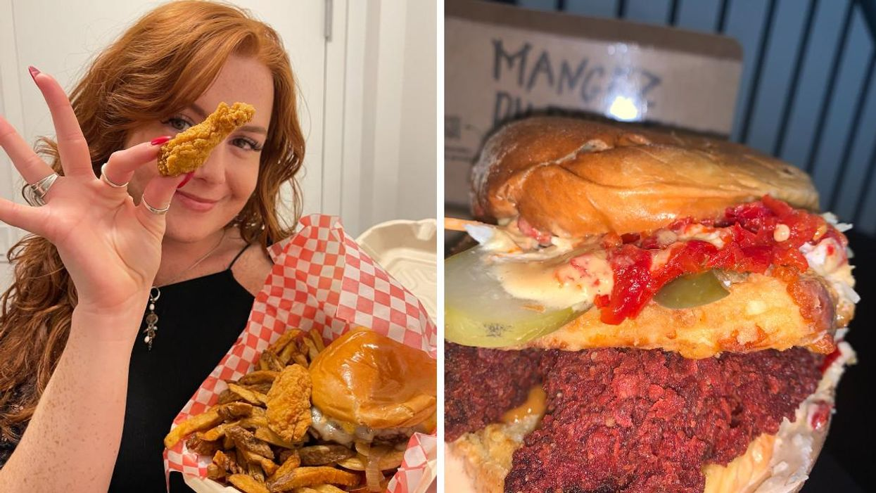 I Tried 3 Of The Wildest Burgers From Le Burger Week & Here's What They Were Like (PHOTOS)