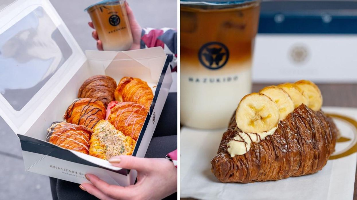 Montreal Has A New Japanese-Inspired Croissant Shop With Stuffed Croissants