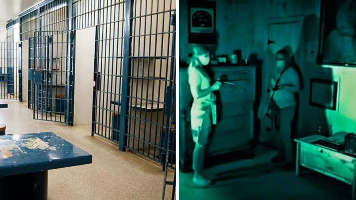 An Old Jail 1.5 Hrs From Montreal Has Night Ghost Hunts If You Want To Sh*t Yourself