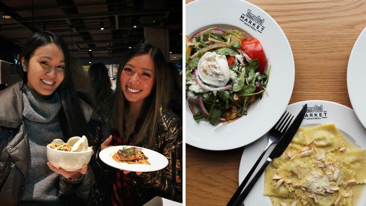 Time Out Market Montreal's Food Event This Month Lets You Try 4 Gourmet Dishes For $20