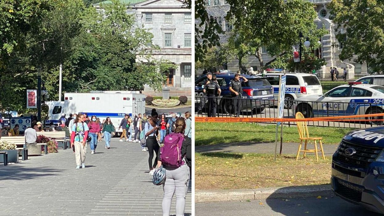 McGill Reopened 3 Buildings After Police Found The Suspicious Package Wasn't Dangerous