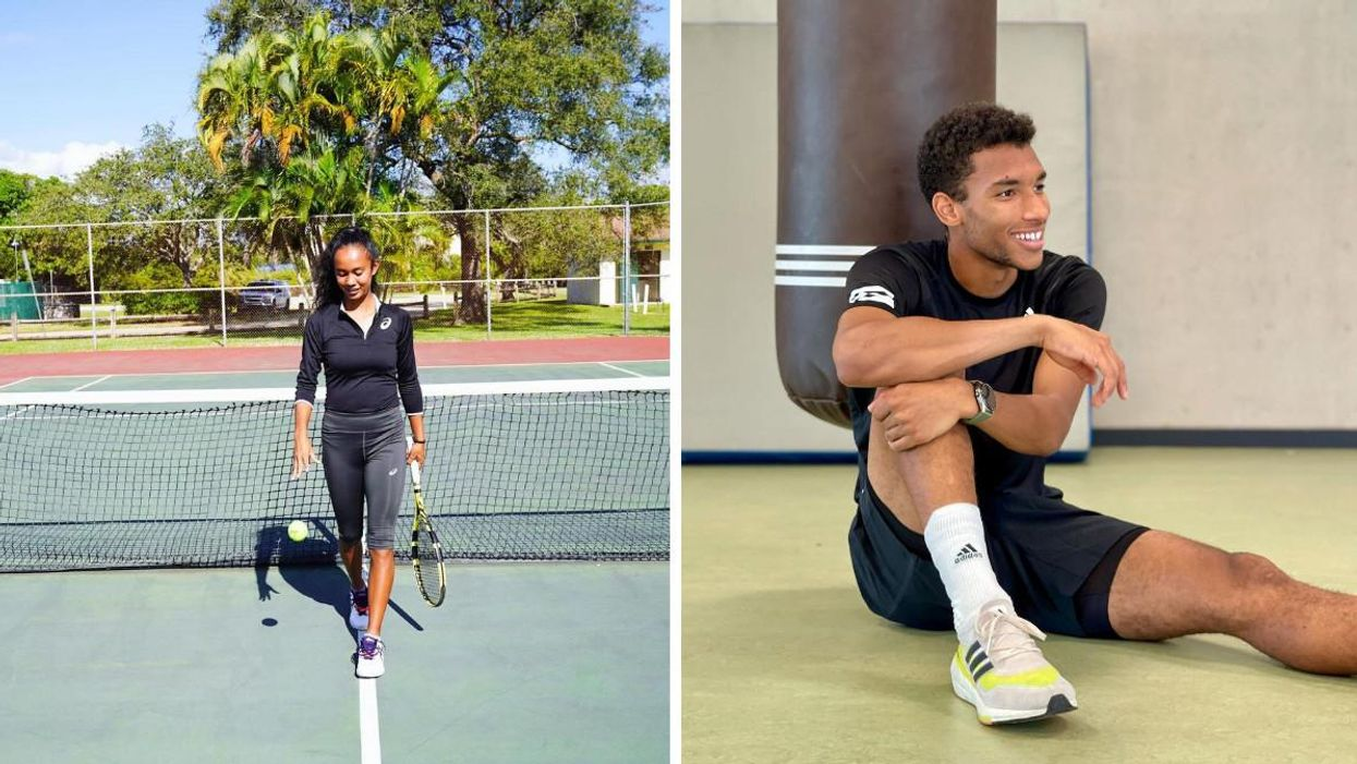 Here's How Much Money Leylah Fernandez & Félix Auger-Aliassime Won At The U.S. Open