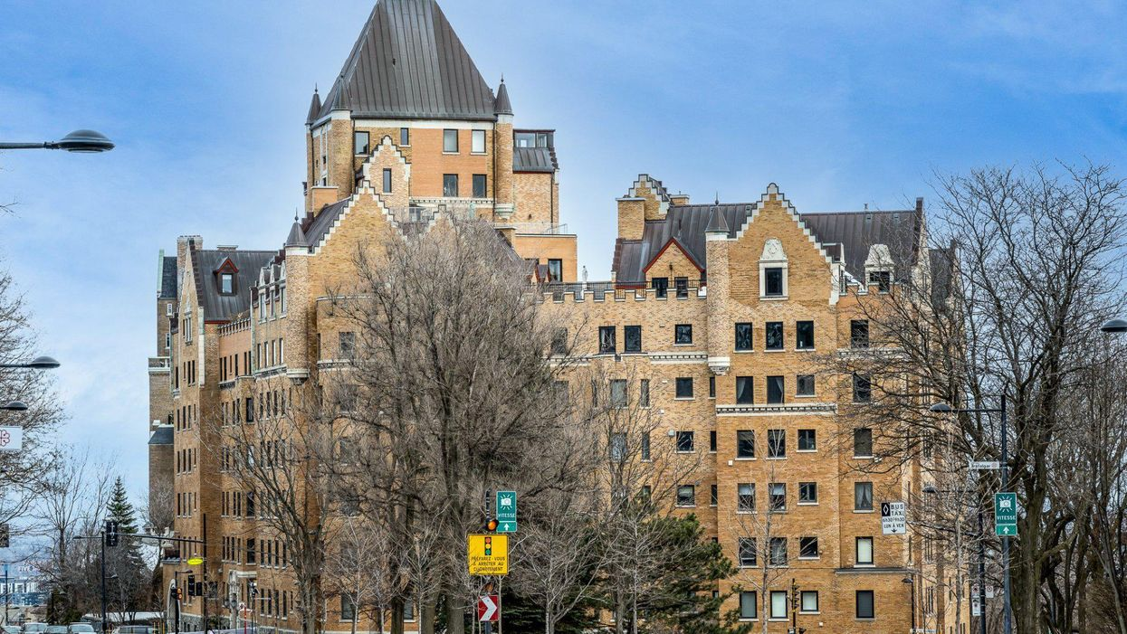 A Condo Is For Sale In This Iconic Montreal Building That Looks Like A Castle (PHOTOS)