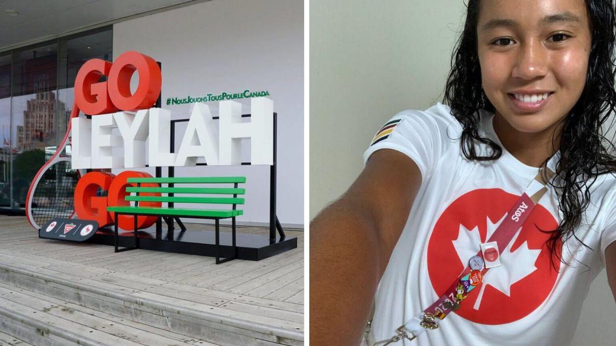 Tennis Queen Leylah Fernandez Shared Her Secret To Success & It's So Damn Canadian