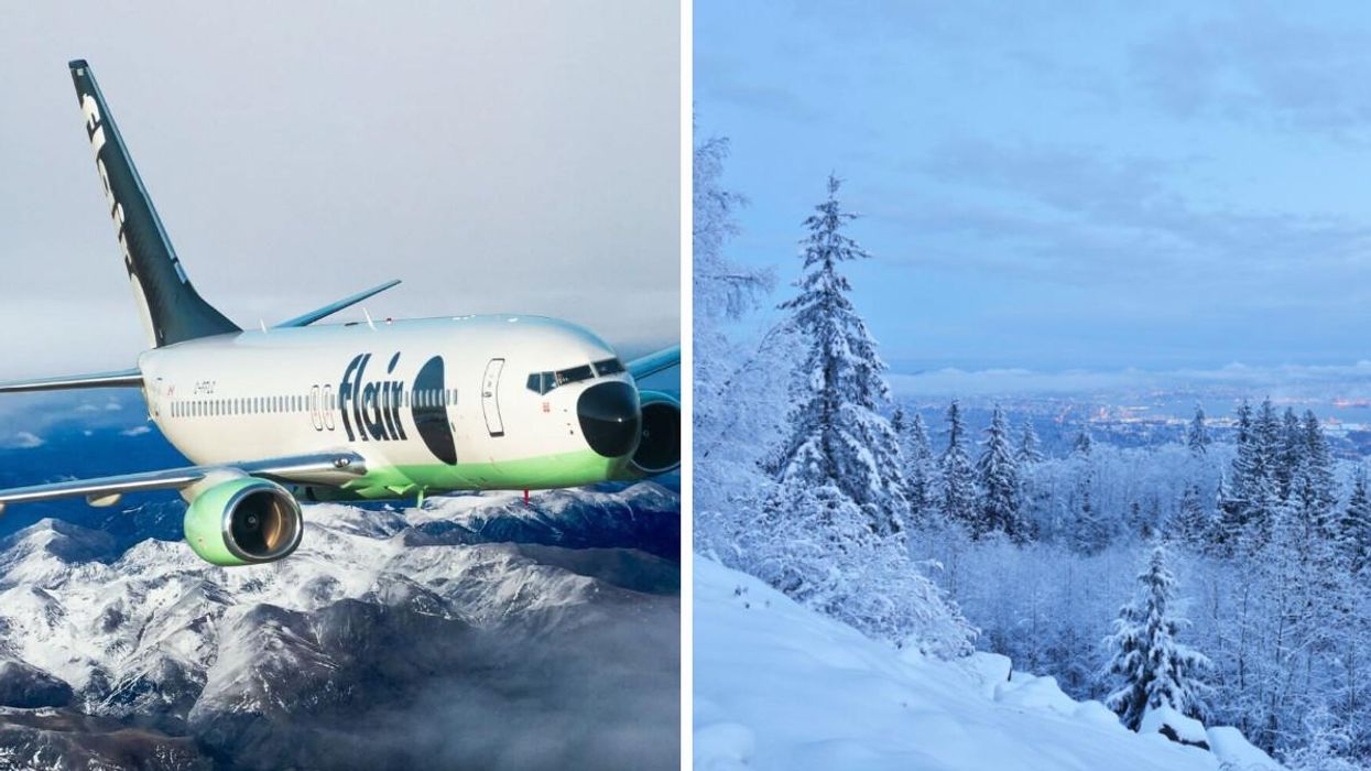 This Round-Trip Flight From Montreal To Vancouver Is $122 & It Makes For An Ideal Ski Trip