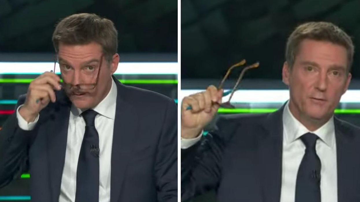 Patrice Roy's Glasses At The French Debate Got Their Own Twitter Account & It's Hilarious