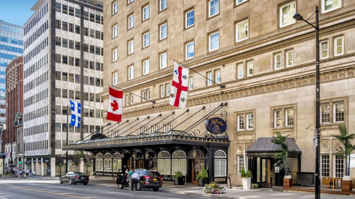 Montreal's Ritz-Carlton Was Ranked The 'Best City Hotel' In Canada By Travel & Leisure