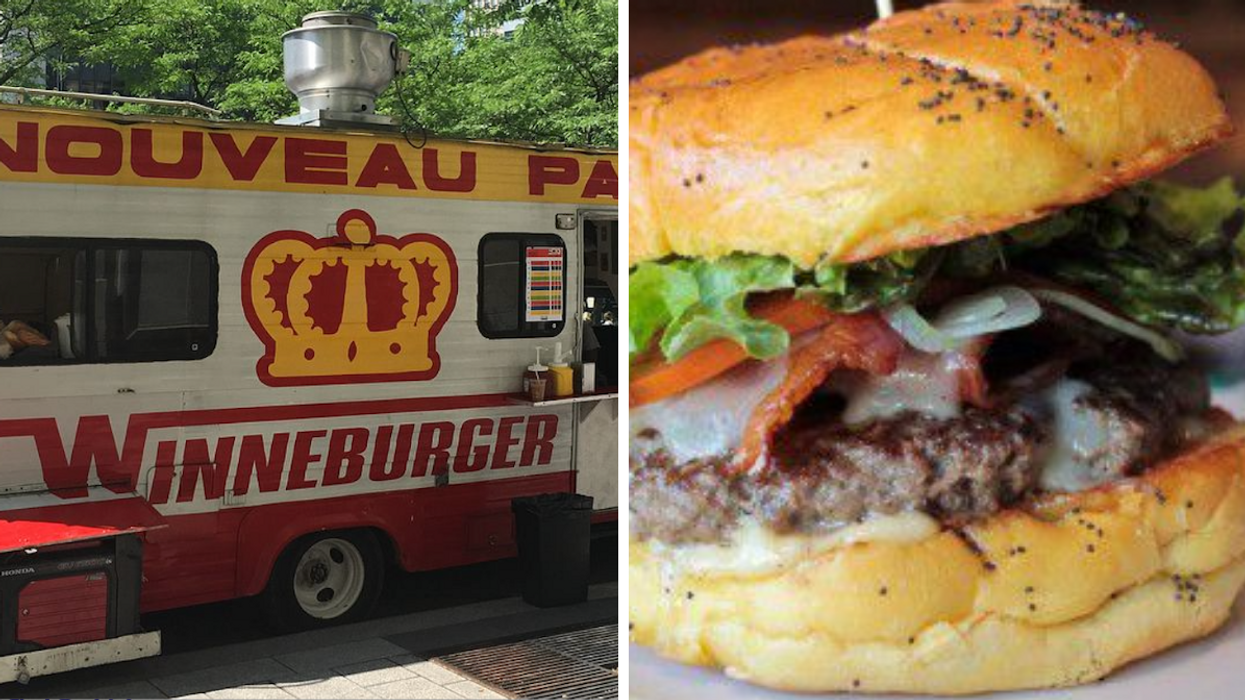 A Montreal Food Truck's Giving Out FREE Burgers This Weekend & There's A Secret Ingredient