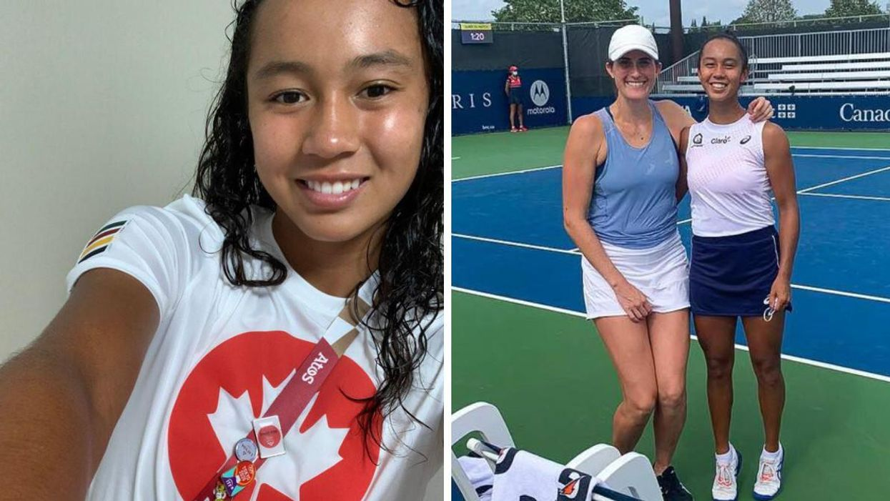 Montrealer Leylah Fernandez Has Made It To The U.S. Open Final & Her Reaction Is Priceless