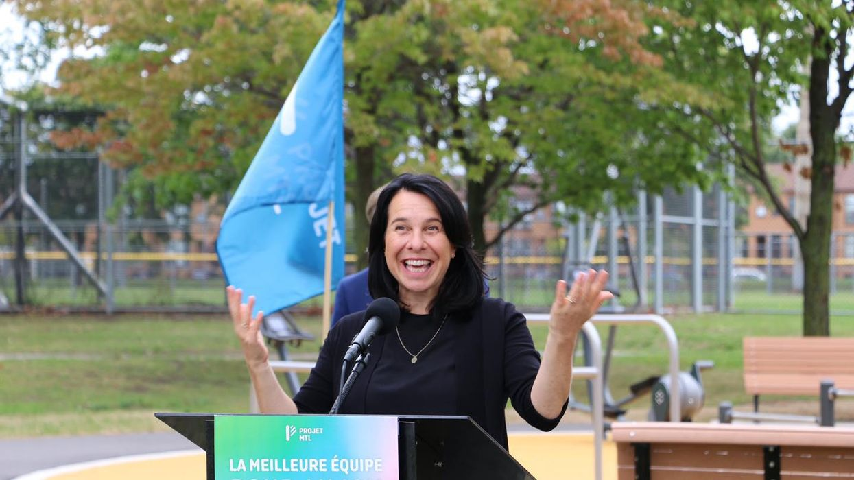 Mayor Plante's Naughty Slip Of The Tongue When Talking About Leylah Fernandez Is Funny AF
