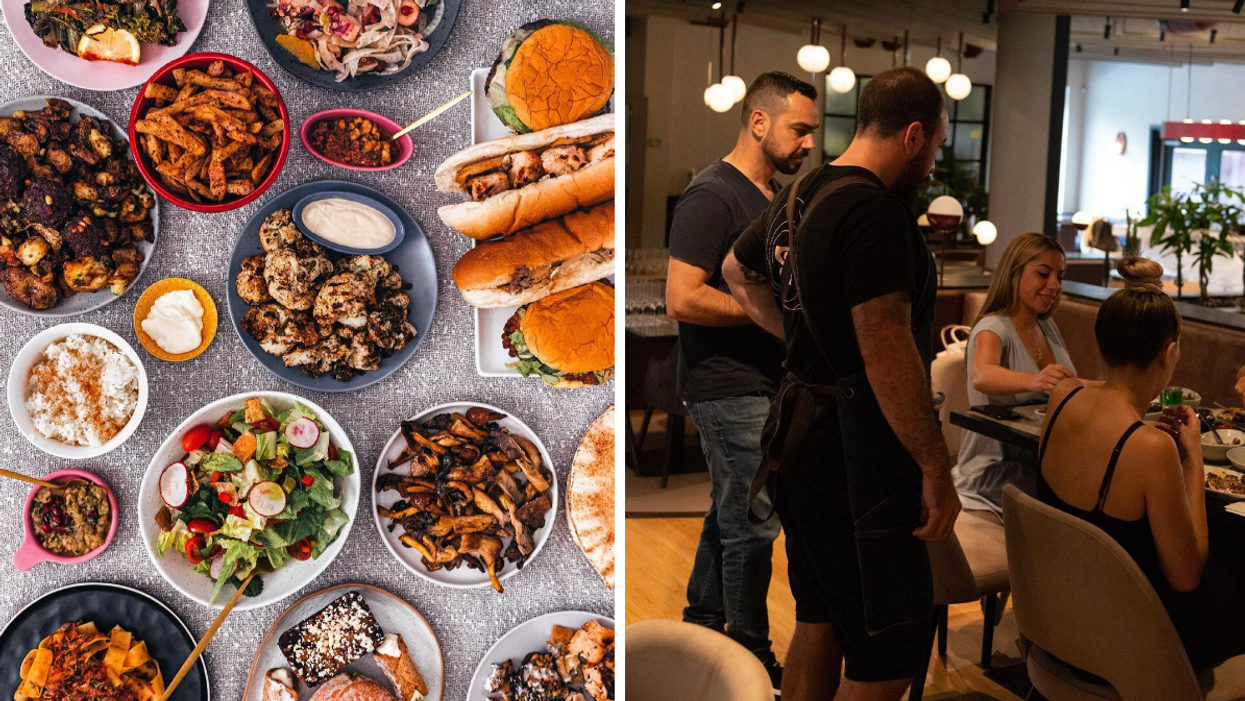 This Mouthwatering Lebanese Restaurant Just Opened Its Montreal Dining Room & WOW (PHOTOS)