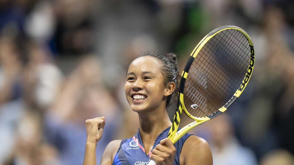 Here's How To Watch Leylah Fernandez In The US Open Final If You're Tuning In From Quebec