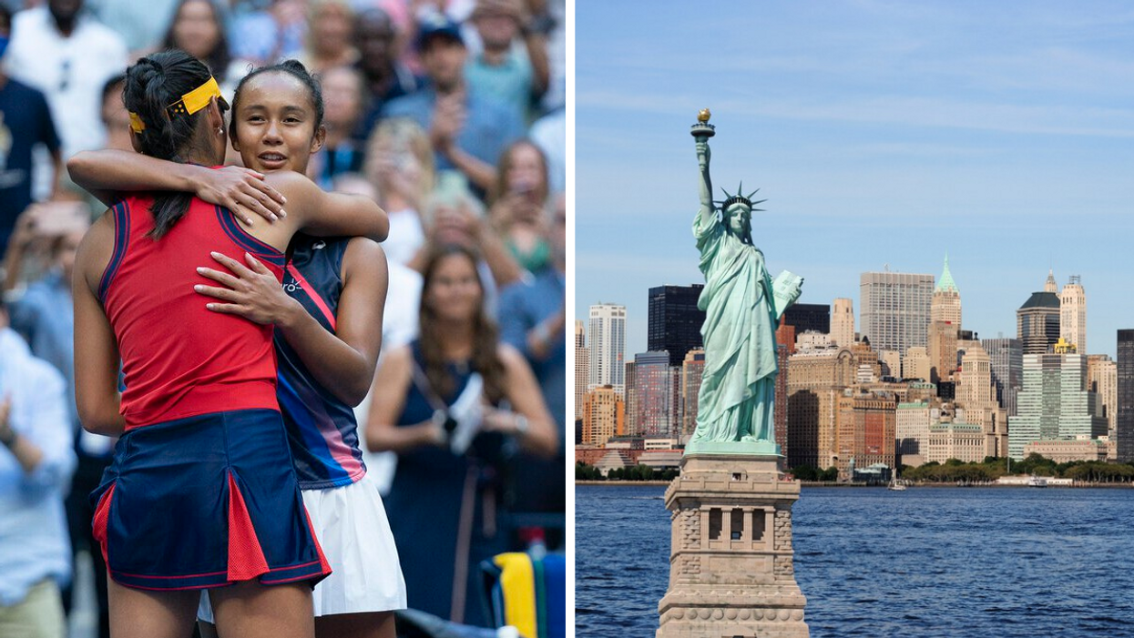 Quebec Tennis Star Leylah Fernandez Had The Most Touching Message For New Yorkers On 9/11