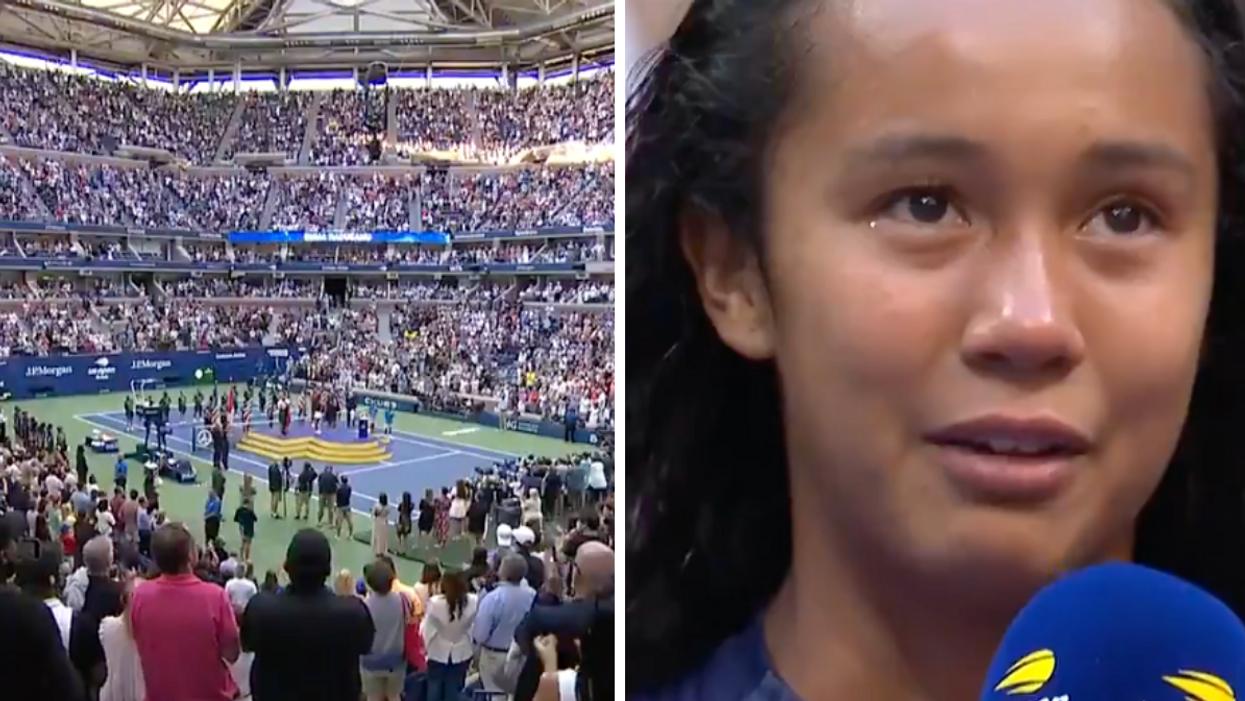 Quebec's Leylah Fernandez Lost The US Open & Still Got A Huge Standing Ovation (VIDEO)