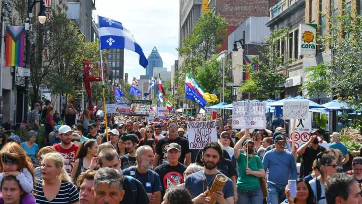 A Massive Protest In Montreal Took Place On Saturday Because Of These 7 Demands (VIDEOS)