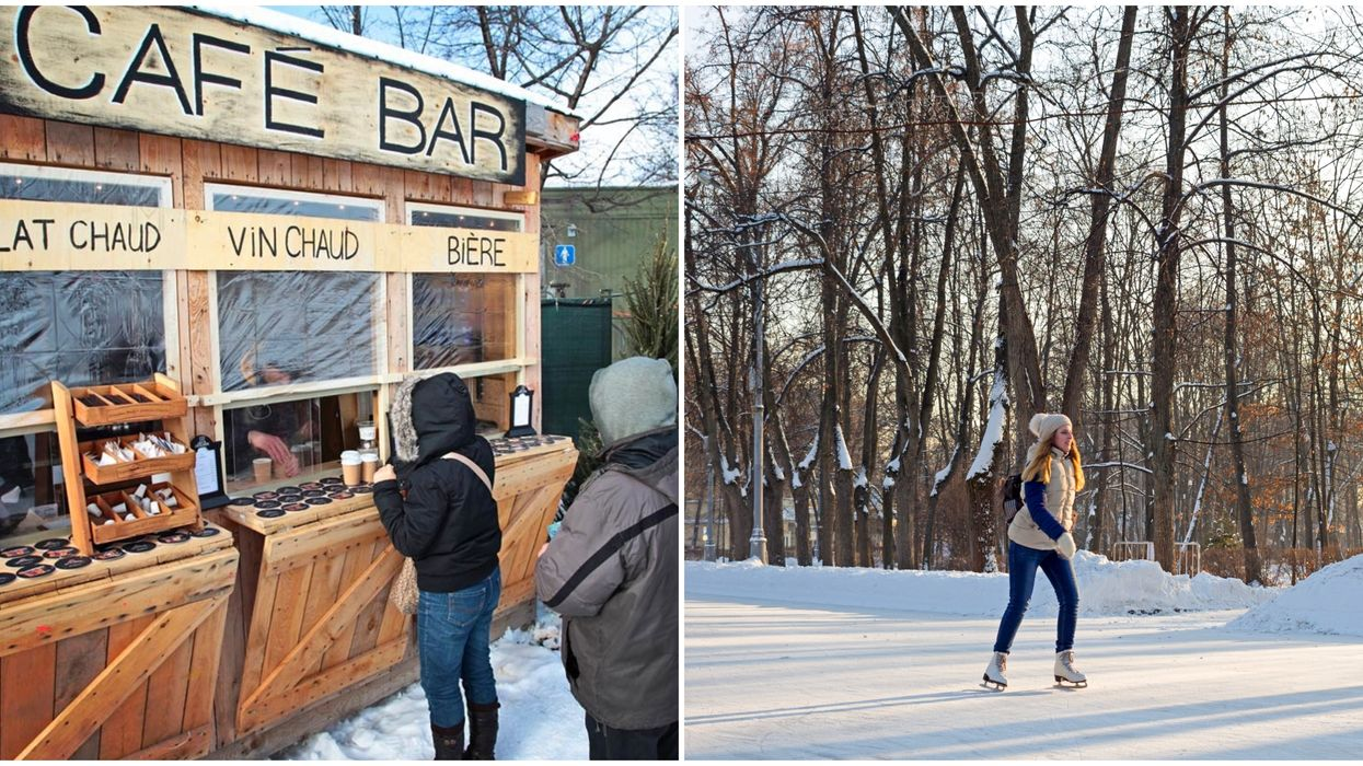 Fête Des Neiges Montreal: Sip Mulled Wine & Skate Through The Forest In Parc Jean-Drapeau
