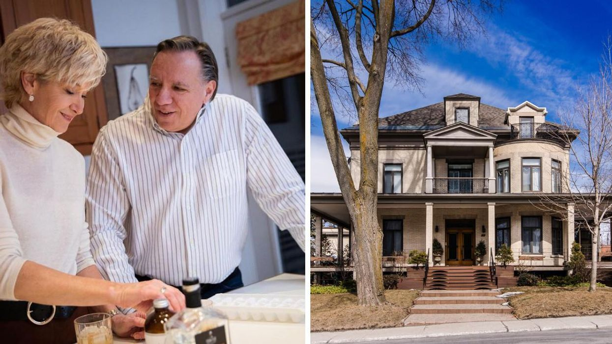 François Legault's Montreal Home Has Officially Been Sold