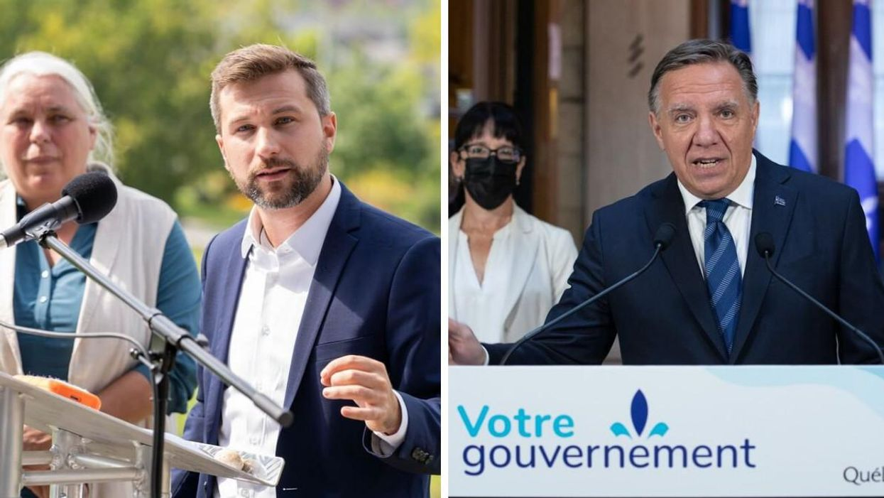 Gabriel Nadeau-Dubois Fired Back At Legault For Refusing To Acknowledge Systemic Racism