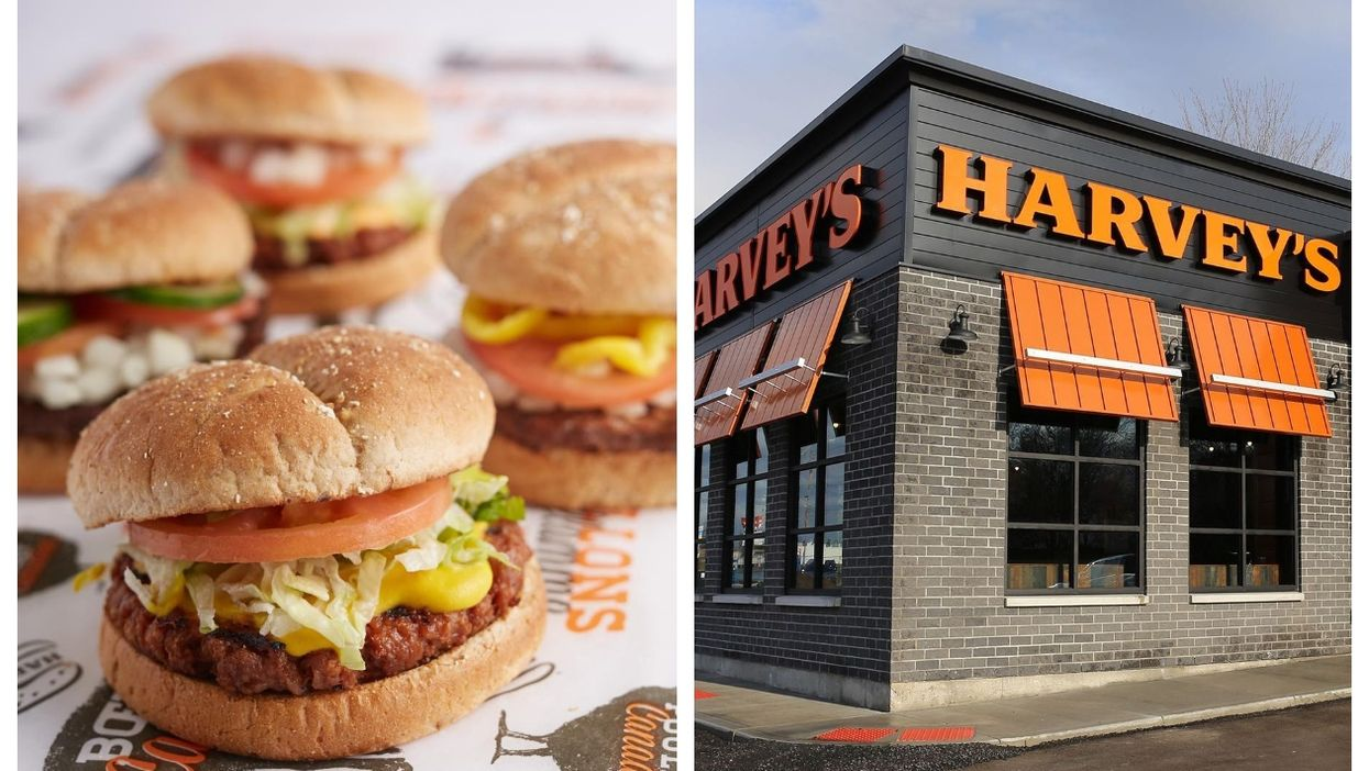 Harvey's Is Giving FREE Burgers To Canadians Who Get Their First Vaccine Dose
